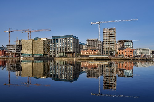 Crafting a city neighbourhood for Dublin's Docklands
