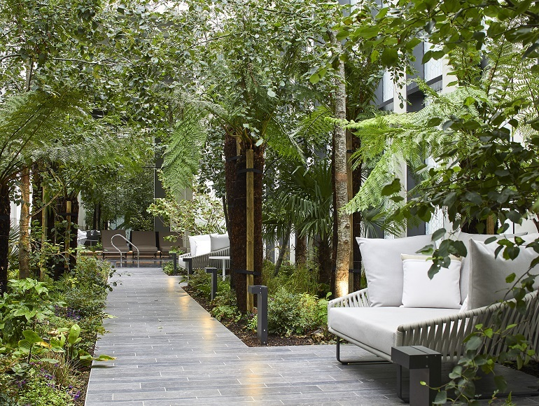Green sanctuary in the city welcomes first residents