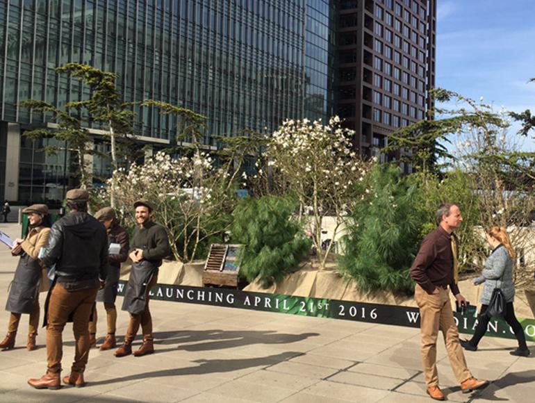 A garden city pop up