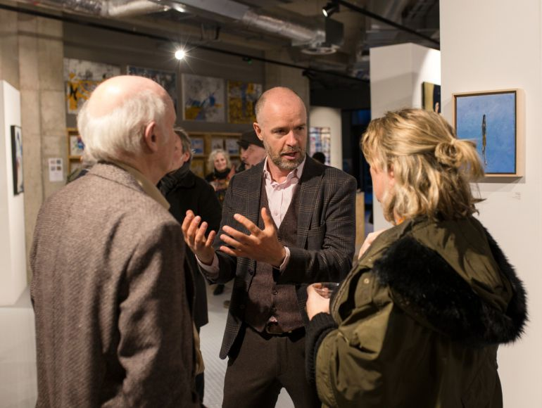 Second gallery opens on London City Island