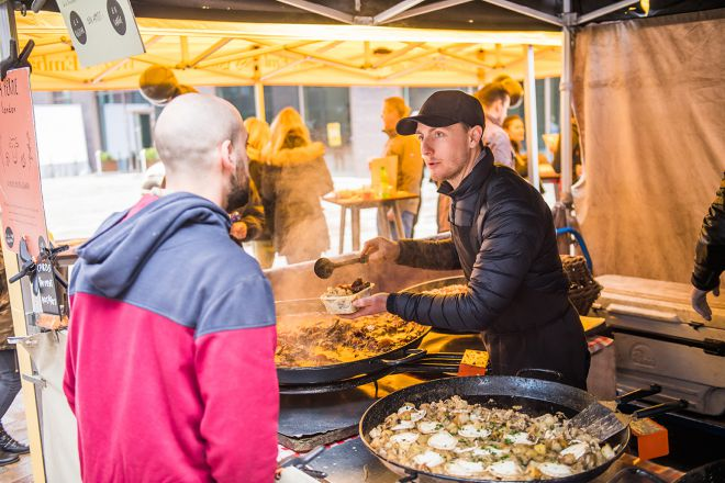 Taste sensation: EG's Saturday food market returns for a summer season