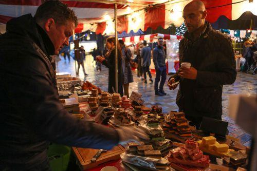 Taste sensation: EG's Saturday food market returns for a summer season