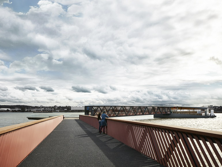 Royal Wharf Pier realises vision for sustainable travel
