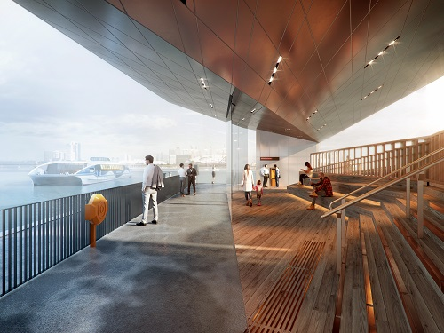 Royal Wharf Pier wins top London design award