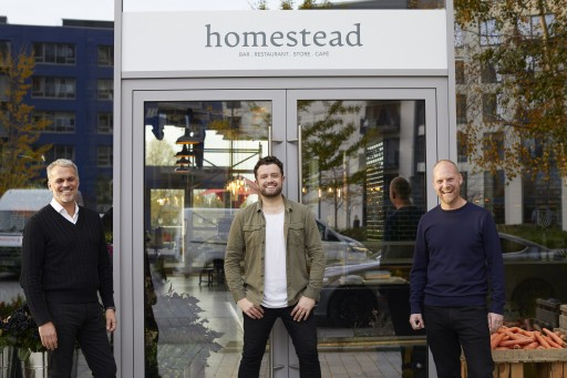 Homestead puts new dining concept at the heart of London City Island