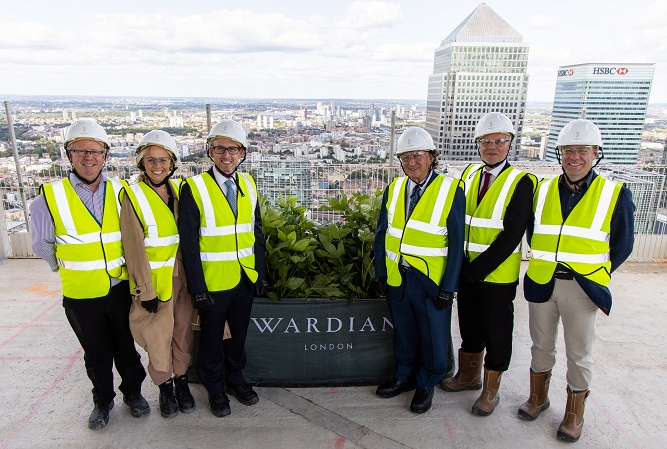 Topping out heralds new model for living with nature in the capital