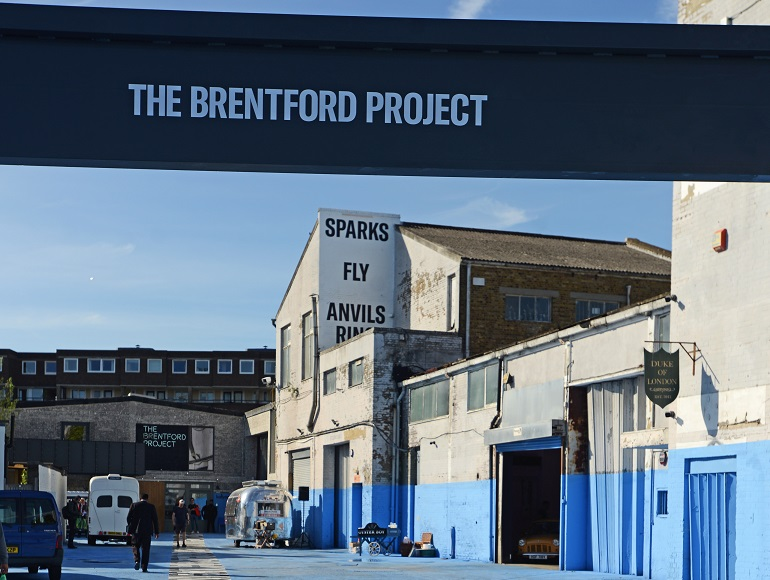 It's hotting up at The Brentford Project