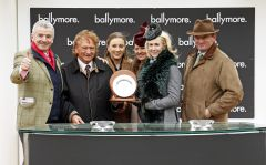 Ballymore returns to Cheltenham as Sean Mulryan and Michael O'Leary celebrate a triumphant victory of Irish sport