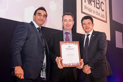 Ballymore site manager's dedication and expertise rewarded