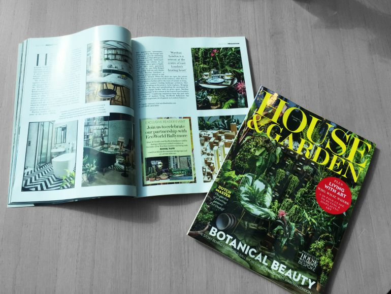Wardian London published in House & Garden