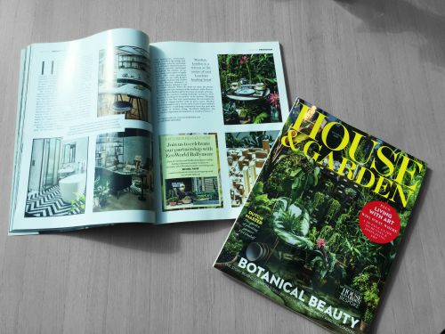 Wardian London published in House & Garden