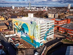 All things bright and beautiful for The Brentford Project mural