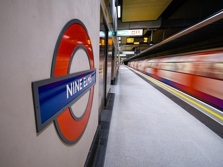 Northern Line has arrived at Nine Elms