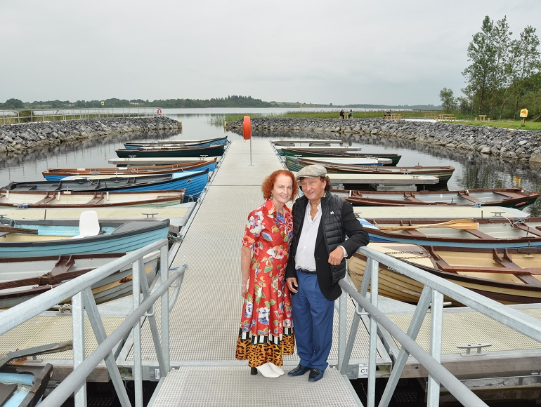 Ballymore chairman celebrates marina regeneration