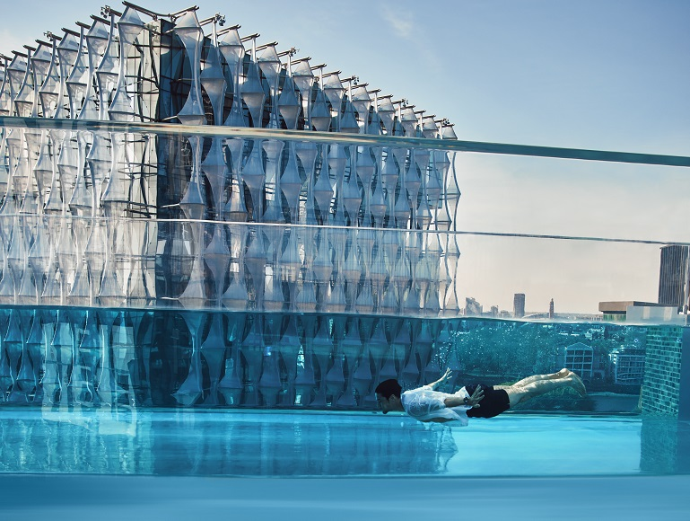 Creating a world first: Sky Pool at Embassy Gardens
