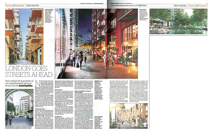 London goes streets ahead, London Evening Standard