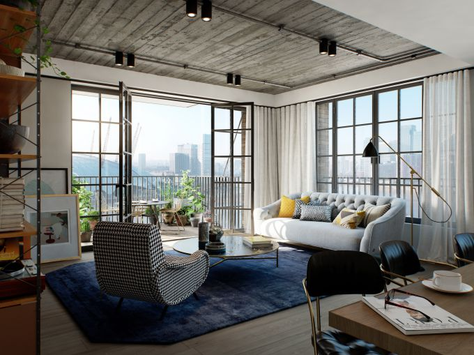 Goodluck Hope: Exclusive East London Riverside Apartment Launch