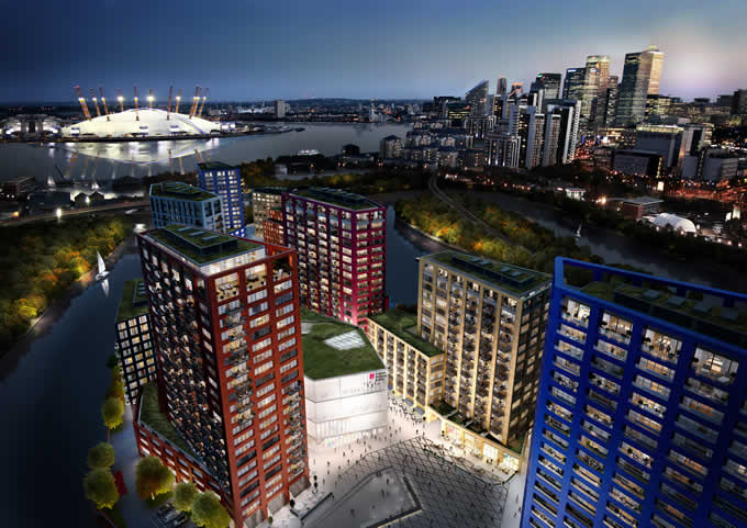 Ballymore's London City Island launches its next phase and announces partnership with English National Ballet