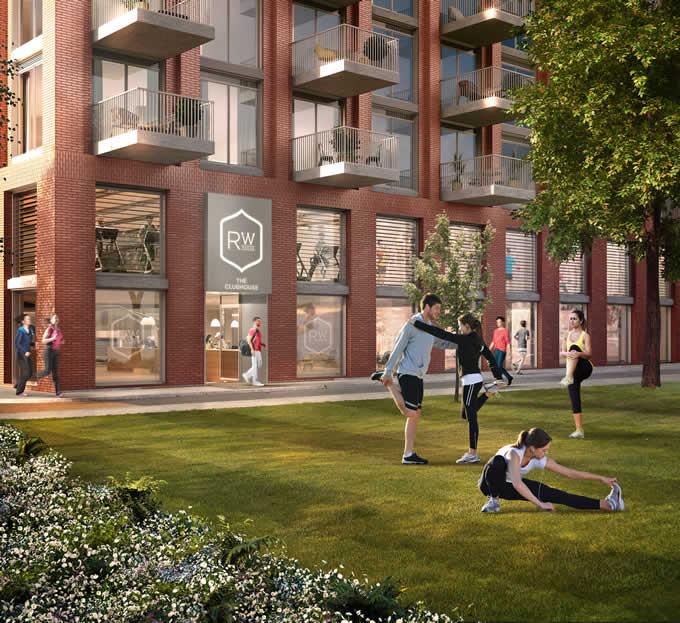 Royal Wharf unveils its David Morley designed leisure facility