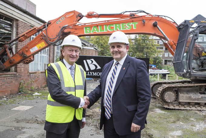 Ballymore Group and London Borough of Hounslow mark progress at Brentford Waterside