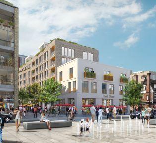 Brentford Waterside works begin