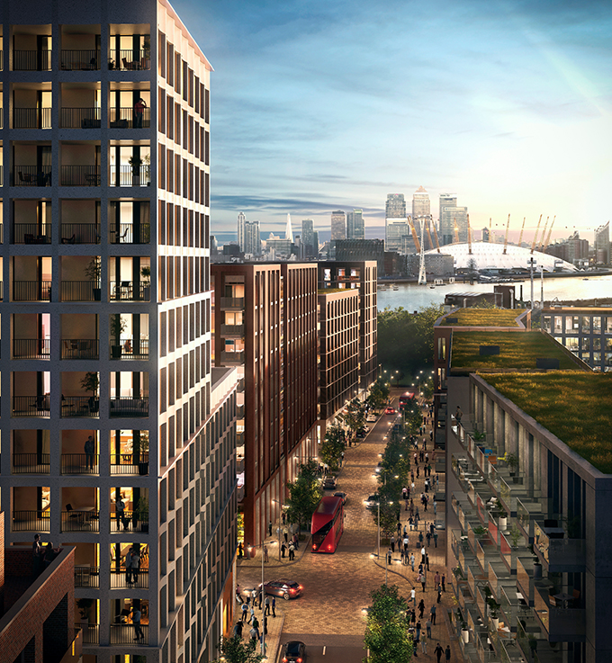 Ballymore and Oxley launch Mariner's Quarter at Royal Wharf