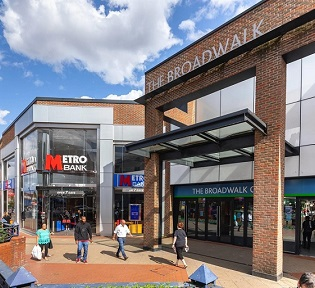 Ballymore exchanges on Broadwalk Shopping Centre, Edgware