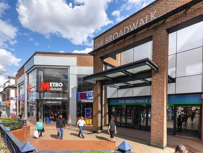Ballymore exchanges on Broadwalk Shopping Centre, Edgware