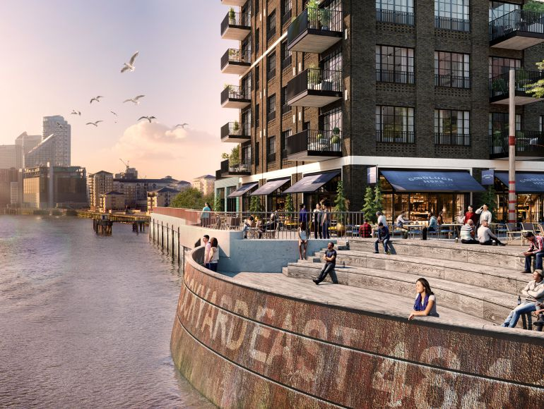 Exclusive apartment launch at East London's premier riverside address