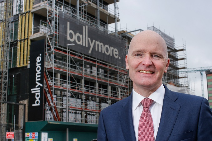 Paul Carty appointed Director of Construction at Ballymore Ireland
