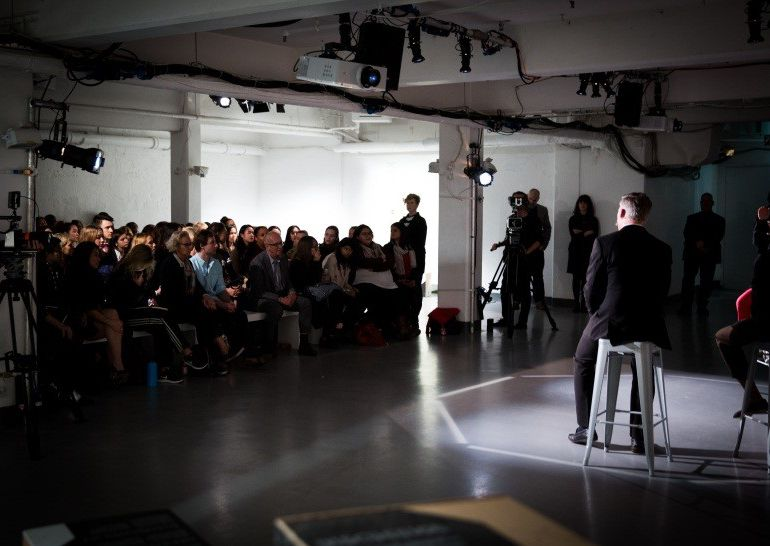 London College of Fashion exhibition launches at London City Island