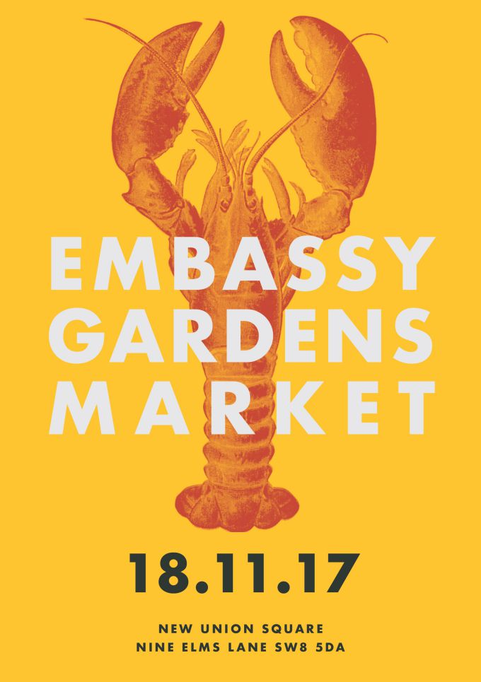 A new market unveiled at Embassy Gardens
