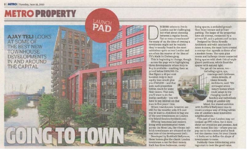 Metro Property - Going to town