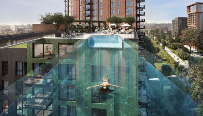 Smart Move: Sky pool flats launch