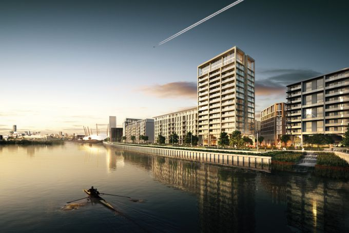 Ballymore & Oxley complete 1000th home at Royal Wharf