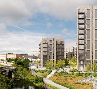 Ballymore receives planning approval for a further 435 residential units at its Royal Canal Park development in Ashtown