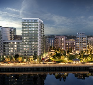 Ballymore submits application for latest mixed-use development in the Royal Docks