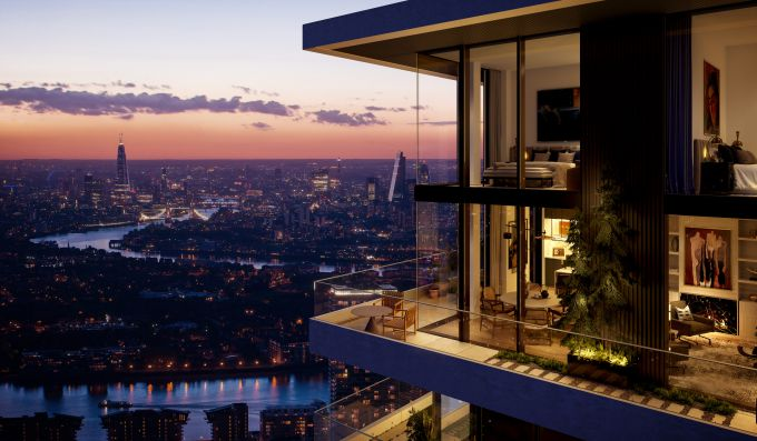 Ballymore offer the gift of time with the launch of the Penthouses at Wardian London
