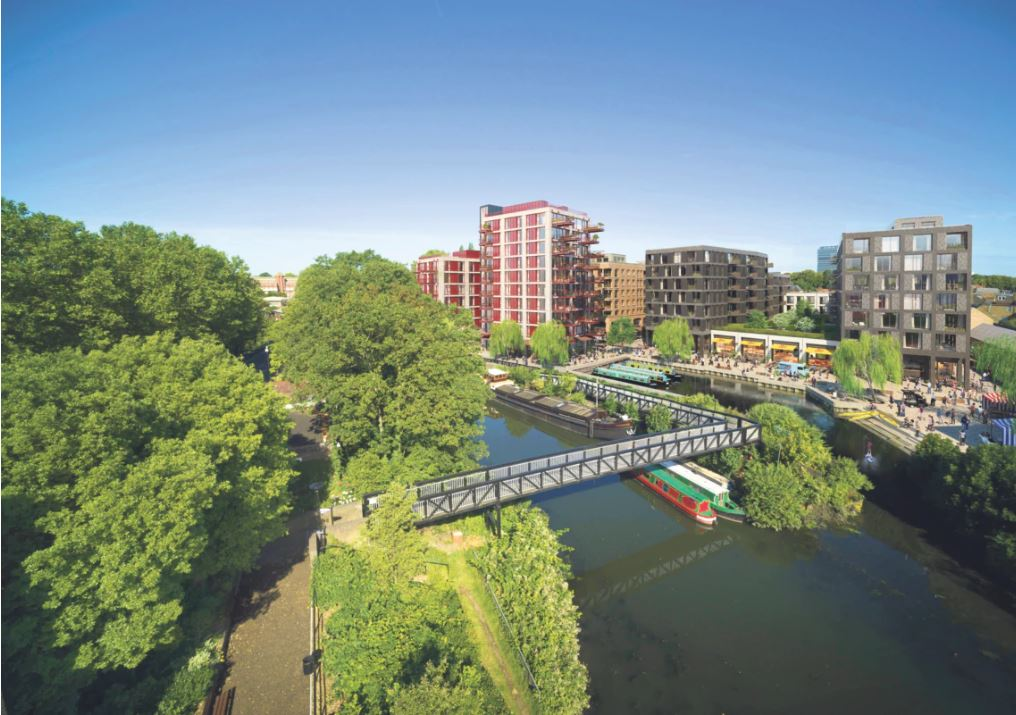 New homes, shops and cultural venues are set to revitalise a hidden part of Brentford's industrial past