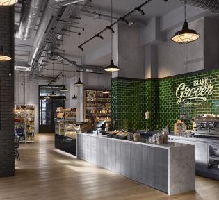 London City Island and The Island Grocer officially open