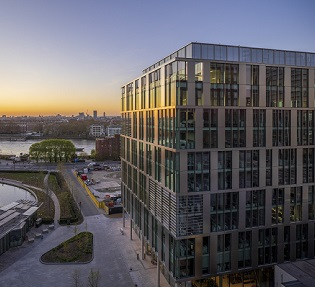 Ballymore secures office letting at Embassy Gardens