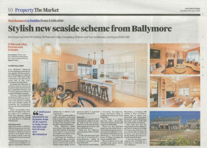 Stylish new seaside scheme from Ballymore